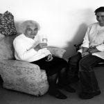 24 Stunden Pflegekraft mit einer Seniorin